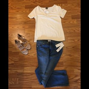 Ann Taylor Factory ivory